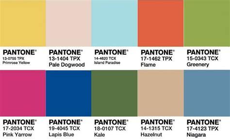pantone color chart 2017 2017 pantone colour predictions luxedestinationweddings com