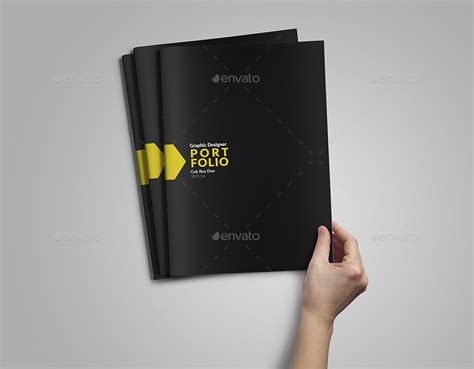 graphic design portfolio layout free download portfolio template by vanroem graphicriver