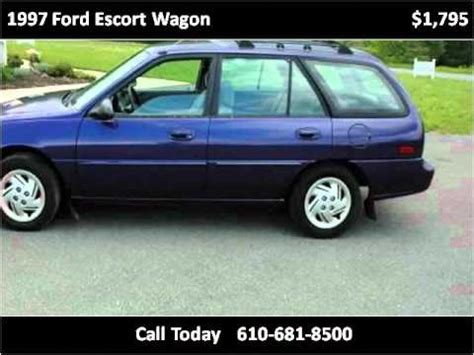 1997 ford escort lx wagon owners manual