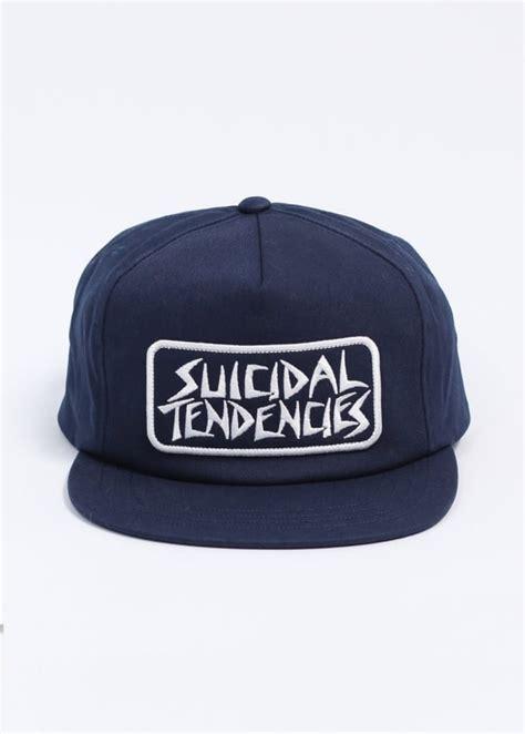 Topi Suicidal Tendencies Snapback 1 obey x suicidal tendencies propaganda snapback cap navy blue