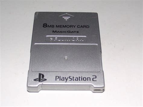 Memory Card Ps2 8mb By Winzgame silver fujiwork magic gate ps2 memory card preloved