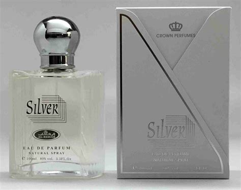 Parfum Silver silver premium eau de parfum spray 100ml 3 33 fl oz by alrehab