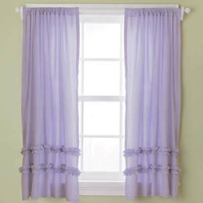 kids lilac curtains 96 quot half dipped curtain pink kid purple and lavender