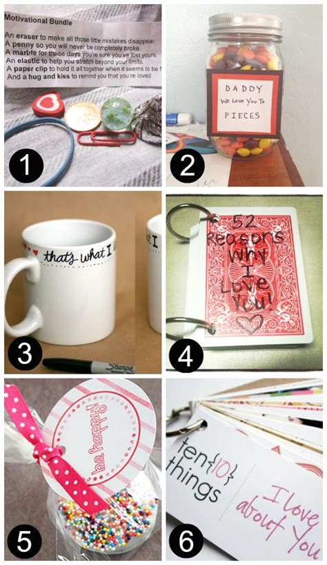 Handmade Anniversary Gifts For Him - gift ideas for boyfriend gift ideas for him diy