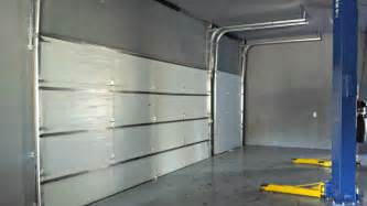 shop roll up or garage door insulation and temp