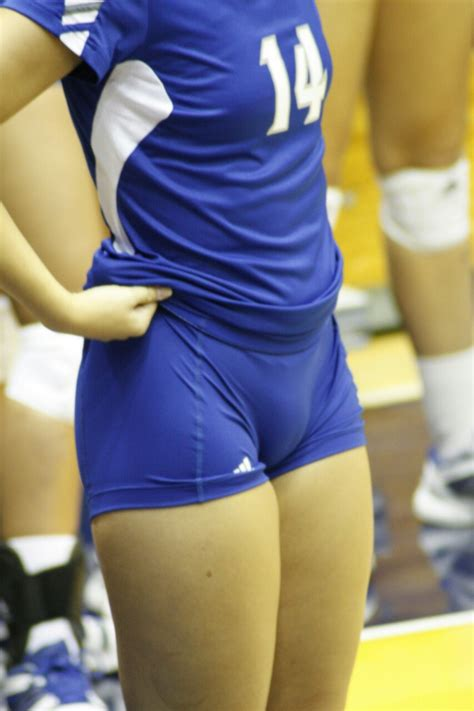high school volleyball camel toes volleyball voyeur pleasure photo sheesh pinterest