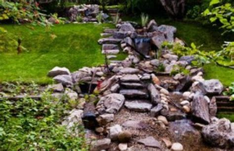 how to build a stream in your backyard 70 summery backyard diy projects that are borderline