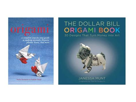Dollar Bill Origami Book - 2pk books dollar bill origami origami home kitchen