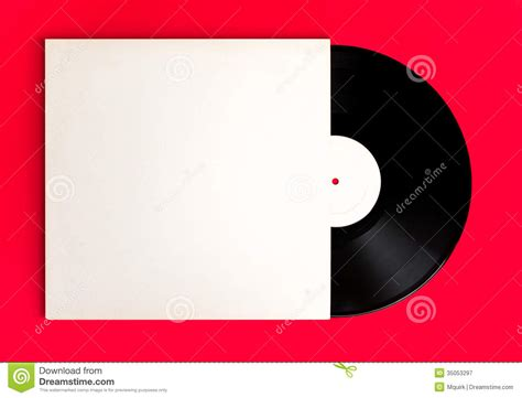 How To Make A Cd Cover Out Of Paper - blank record album and cover royalty free stock