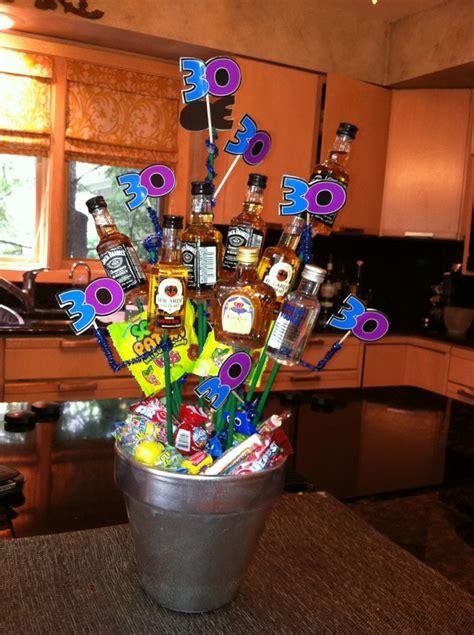 30th birthday centerpieces my fiances 30th birthday centerpieces 30 bottle 30th birthday and birthdays