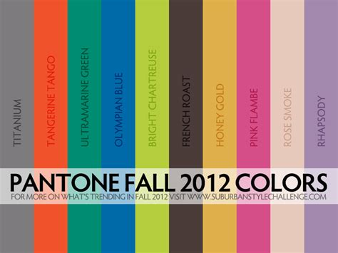 trending colors trending for fall 2012 suburban style challenge