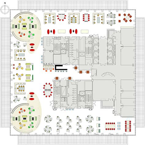one canada square floor plan bny mellon office design on behance