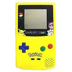 list of gameboy color boy color system used