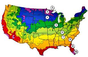 Landscape Zones Usa Planting Zone In The United States