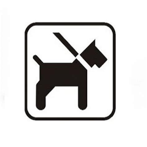 Aufkleber Hunde Willkommen by Piktogramm Aufkleber Schwarz Comodul