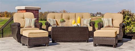 Patio Lounge Chairs & Ottomans   La Z Boy Outdoor Furniture