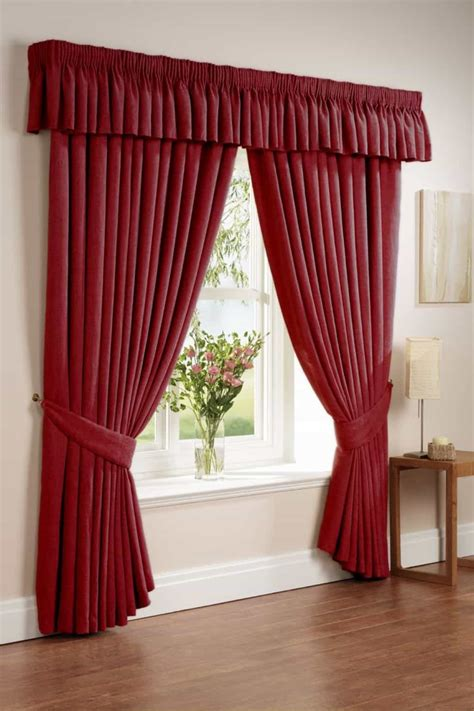 deep red curtains deep red window curtains the advantages of red window