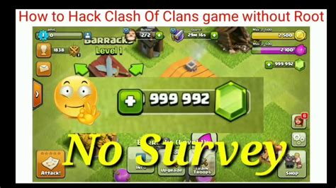 i mod game android clash of clans how to hack clash of clans game without root howsto co