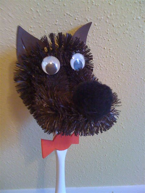 Wolf Paper Plate Craft - wolf crafts ted s