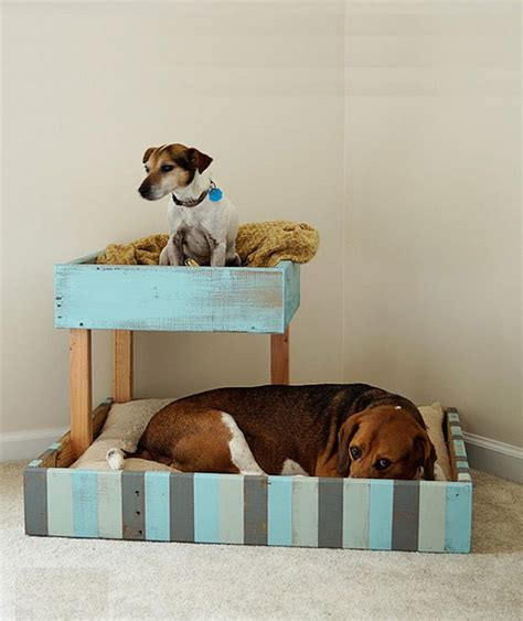 shipping pallet bed 27 diy pet bed ideas for your inspiration interiorsherpa