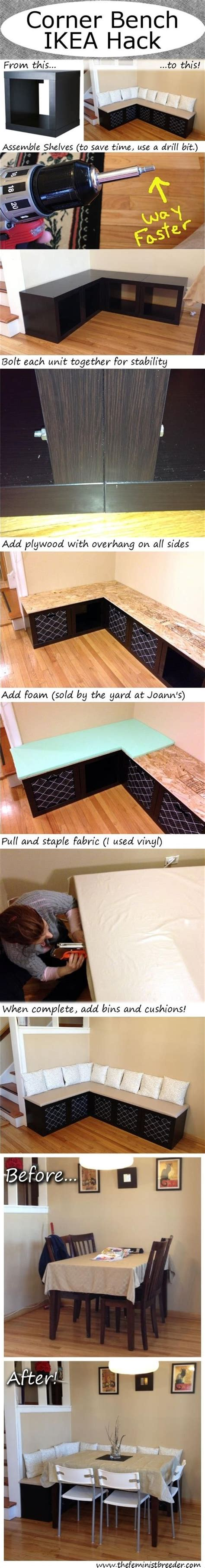 how to make a dining bench decor hacks how to make a corner bench seating table for your dining room decor