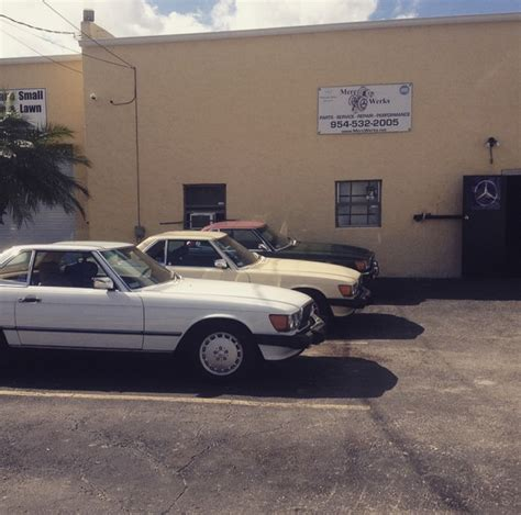 Mercedes Of Pompano Service by Mercedes Repair By Merc Werks In Pompano Fl