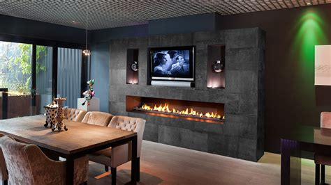 Luxury Gas Fireplace by Fireplace I Modern Fireplaces I Bespoke