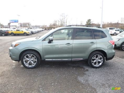 green subaru forester 2017 2017 green metallic subaru forester 2 5i touring