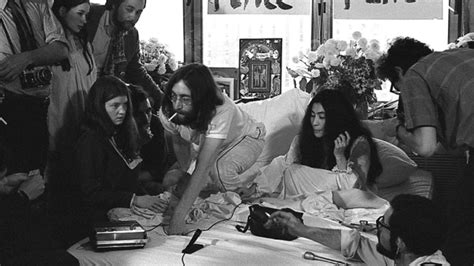 john lennon bed in meet the beatles for real talking in our beds for a week