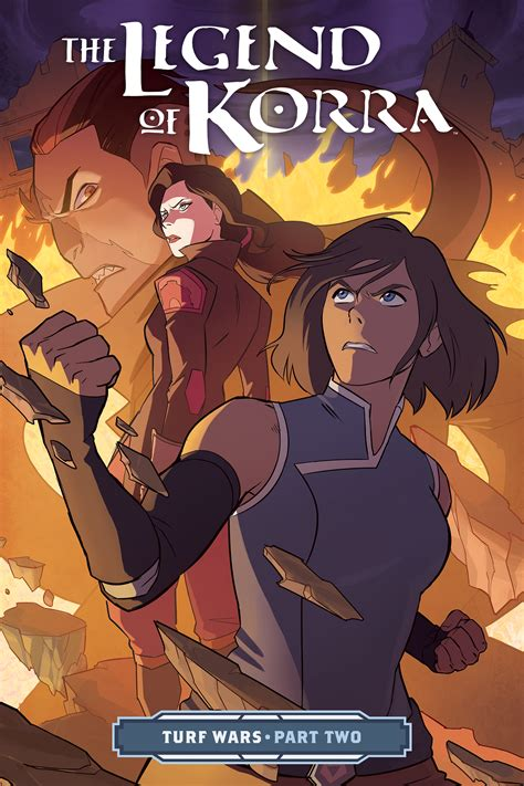 turf wars cover for the legend of korra turf wars