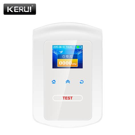Alarm Gas vktech high sensitivity lpg lng coal gas white