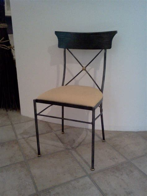 sedia in ferro sedia in ferro battuto in tessuto sedie a prezzi scontati