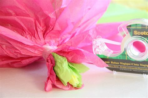 Decorating With Tissue Paper Flowers by Diy Tissue Paper Flowers