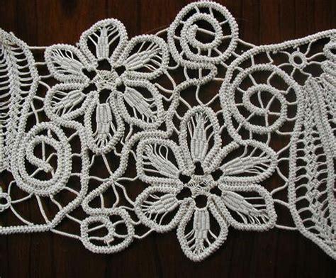 Macrame Crochet Lace - point lace aka european macrame crochet
