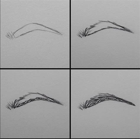 Drawing Eyebrows by How To Draw Eyebrows Artwork Eyebrows I
