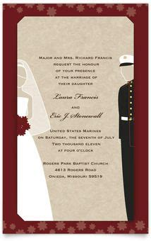 Usmc Wedding Invitations by 17 Best Images About Wedding Invites Unique On