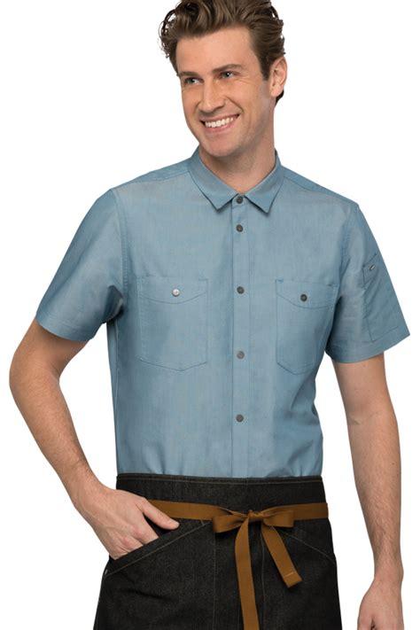 Chambray Sleeve Shirt Jaxon jaxon mens shirt chef works