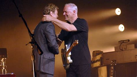 comfortably numb david bowie flashback david gilmour and david bowie sing comfortably