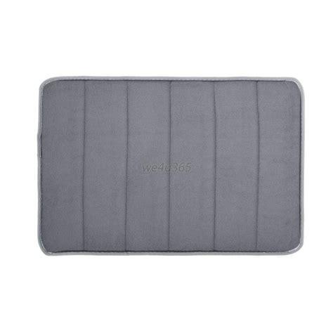 memory foam bathroom rugs memory foam bath mat absorbent non slip bath mat pad