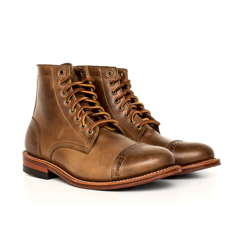 the new oak bootmakers trench boots exclusive