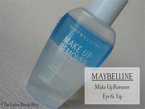 Maybelline Remover maybelline make up remover review demo the indian