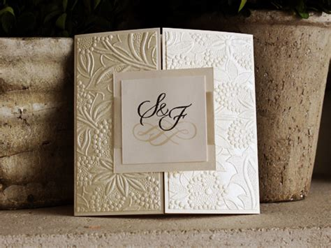 stephita wedding invitations wedding invitation 1094 white gold white gold