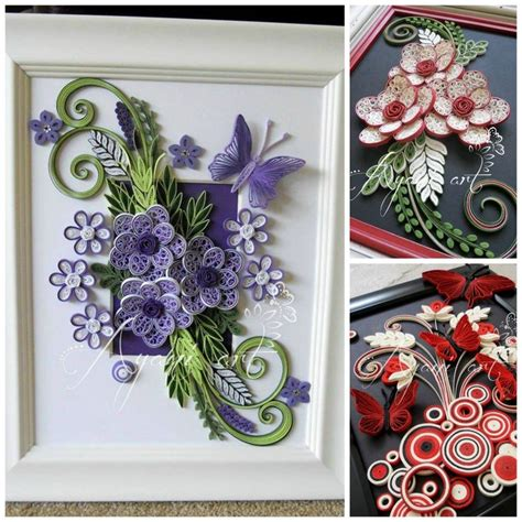 Paper Quilling Flower - paper quilling artist quilling designs quilling flowers