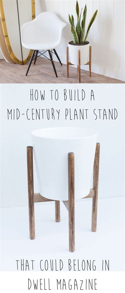 How To Make A Plant Holder - make your own plant stand woodworking projects plans