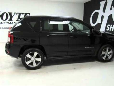 jeep compass all black 2016 jeep compass high altitude black for sale frisco tx
