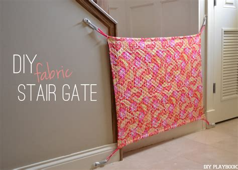 diy gate how to make your own diy fabric baby gate for your home