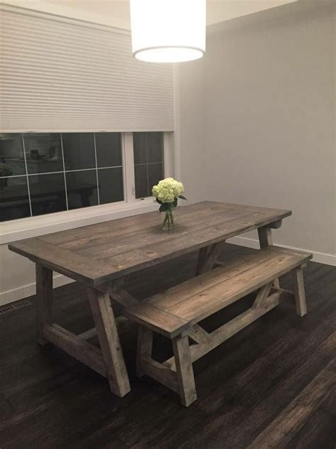 rustic chic dining table 25 best rustic kitchen tables ideas on rustic