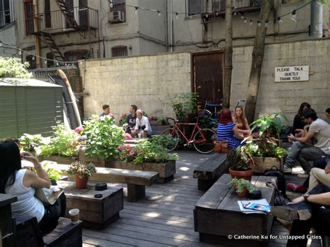 coffee shop garden design 8 quirky coffee shop combinations in new york city