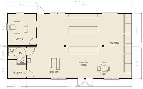 store floor plans ellis modular buildings general stores floor plans