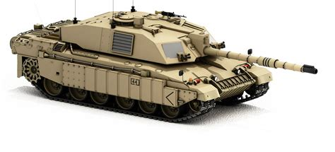 challenger 2 tank model challenger 2 army tank with desert 3d model
